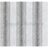 Tapety na stenu Graziosa pruhy svetlo hnedo-modré