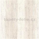 Vliesové tapety na stenu IMPOL Hailey vertikálna stierka svetlo hnedá s trblietkami
