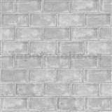 Vliesové tapety na stenu Home tehly sivé