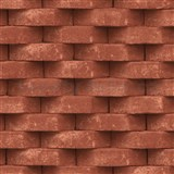Vliesové tapety na stenu Horizons 3D tehla terakotová
