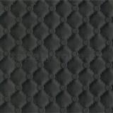 Vliesové tapety na stenu IDEA OF ART imitácia koženky s prešívaním a gombíkami čierne