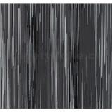 Vliesové tapety na stenu Infinity prúžky sivo-čierne