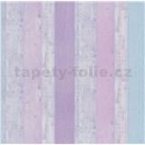 Papierové tapety na stenu It's Me Vintage dosky fialové, ružové, modré