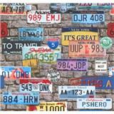 Papierové tapety na stenu It's Me automobilové značky
