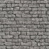 Papierové tapety na stenu It's Me tehla sivá