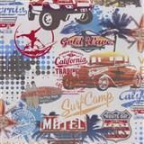 Papierové tapety na stenu It's Me Venice Beach farebné  - POSLEDNÝ KUS