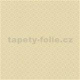 Papierové tapety na stenu Je T´aime geometrický vzor žltý