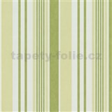 Tapety na stenu Jewel - pruhy - svetlo zelené