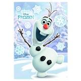 Samolepky na stenu Disney Frozen Olaf rozmer 50 cm x 70 cm
