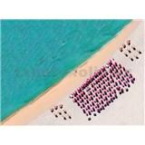 Vliesové fototapety južná pláž rozmer 248 cm x 184 cm