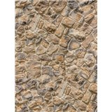 Vliesové fototapety kamenná stena rozmer 184 cm x 248 cm