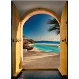 Fototapety Santorin, rozmer 254 x 184 cm