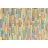 Vliesové fototapety drevené farebné obloženie rozmer 368 cm x 248 cm