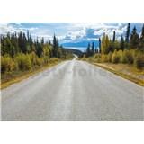 Papierové fototapety Atlin Road rozmer 368 cm x 254 cm