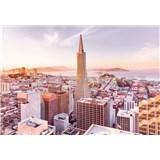 Papierové fototapety San Francisco Morning rozmer 368 cm x 254 cm