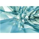 Papierové fototapety 3D Crystal Cave 368 cm x 254 cm