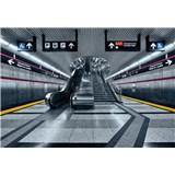 Papierové fototapety Subway 368 cm x 254 cm