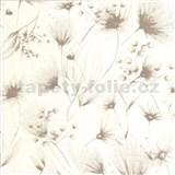 Vliesové tapety na stenu G. M. Kretschmer Sommeraktion kvety svetle hnedé