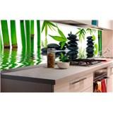 Samolepiace tapety za kuchynskú linku ZEN kamene rozmer 180 cm x 60 cm