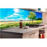 Samolepiace tapety za kuchynskú linku rozkvitnutý strom rozmer 180 cm x 60 cm