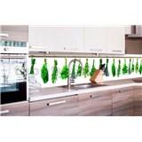 Samolepiace tapety za kuchynskú linku bylinky rozmer 260 cm x 60 cm