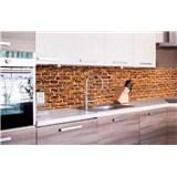 Samolepiace tapety za kuchynskú linku staré tehly rozmer 260 cm x 60 cm