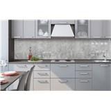 Samolepiace tapety za kuchynskú linku betón Concrete II rozmer 260 cm x 60 cm