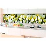 Samolepiace tapety za kuchynskú linku tulipány rozmer 350 cm x 60 cm