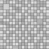Umývateľné vinylové tapety na stenu Bravo 3D mozaika sivo-strieborná