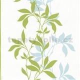 Tapety Lacantara 3 - stonky listov zelené s leskom