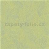 Vliesové tapety na stenu La Veneziana IV pavučina strieborná na limetkovom podklade