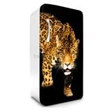 Samolepiace tapety na chladničku panther rozmer 120 cm x 65 cm