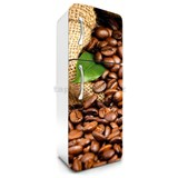 Samolepiace tapety na chladničku kávové zrnká rozmer 180 cm x 65 cm