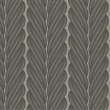 Luxusné vliesové tapety na stenu Colani Legend splietané pruhy tmavo hnedé