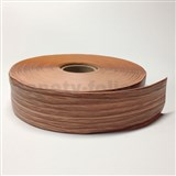 Podlahová lemovka z PVC jilm hnědo-béžový 5,5 cm x 40 m