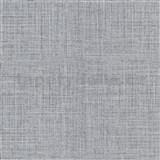 Vliesové tapety na stenu IMPOL Luna textilná štruktúra čierno-sivá