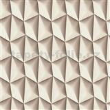 Vliesové tapety na stenu Harmony in Motion by Mac Stopa 3D svetlo hnedý