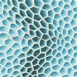 Vliesové tapety na stenu Harmony in Motion by Mac Stopa 3D plástu modré