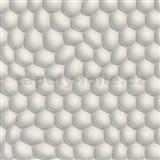 Vliesové tapety na stenu Harmony in Motion by Mac Stopa 3D bubliny svetlo sivé