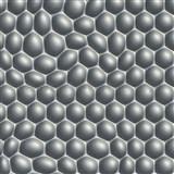 Vliesové tapety na stenu Harmony in Motion by Mac Stopa 3D bubliny sivé