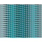 Vliesové tapety na stenu Harmony in Motion by Mac Stopa 3D abstrakt tyrkysový