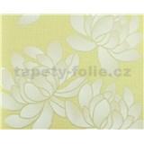 Tapety vliesové The Best - Flowers - žlté
