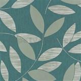 Vliesové tapety na stenu Di Moda listy svetlo-zelené
