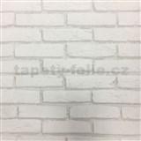 Vliesové tapety na stenu tehla sivá - POSLEDNÝ KUS