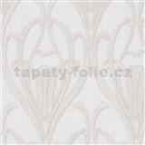Vliesové tapety IMPOL Mata Hari Art-Deco bielo-strieborné