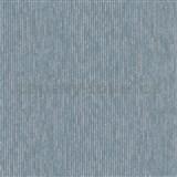 Vliesové tapety na stenu IMPOL Modernista úzke prúžky modré s metalickou patinou