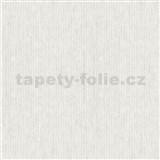 Vliesové tapety na stenu IMPOL Modernista úzke prúžky biele s metalickou patinou