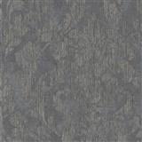 Vliesové tapety na stenu Nabucco zámocký vzor tmavo sivý