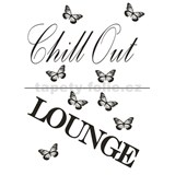 Samolepky na stenu - Chill out Lounge 45 x 65 cm