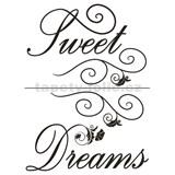 Samolepky na stenu - Sweet Dreams 45 x 65 cm